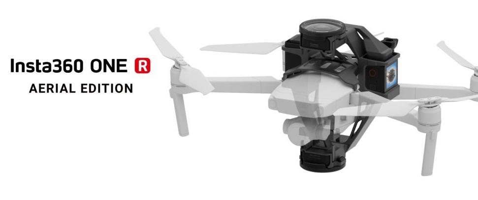 Insta360 ONE R Aerial Edition sử dụng cho DJI Mavic Pro và DJI Mavic 2