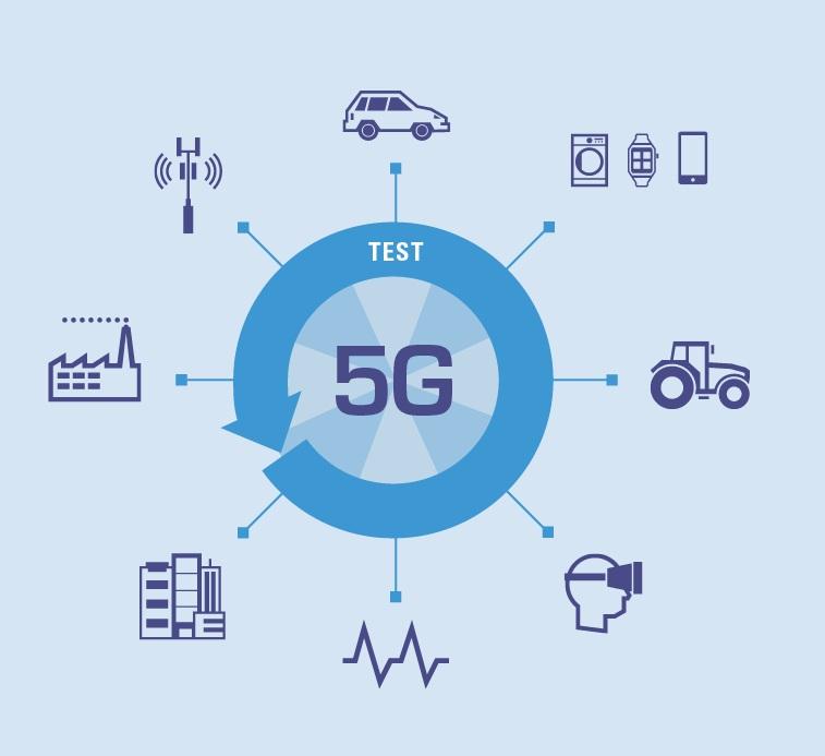 mạng 5G tốc độ truyền dữ liệu nhanh chóng