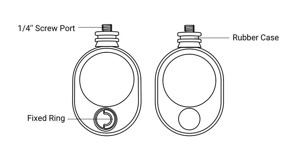 Insta360 Bullet Time Cord có thiết kế đơn giản và thông minh