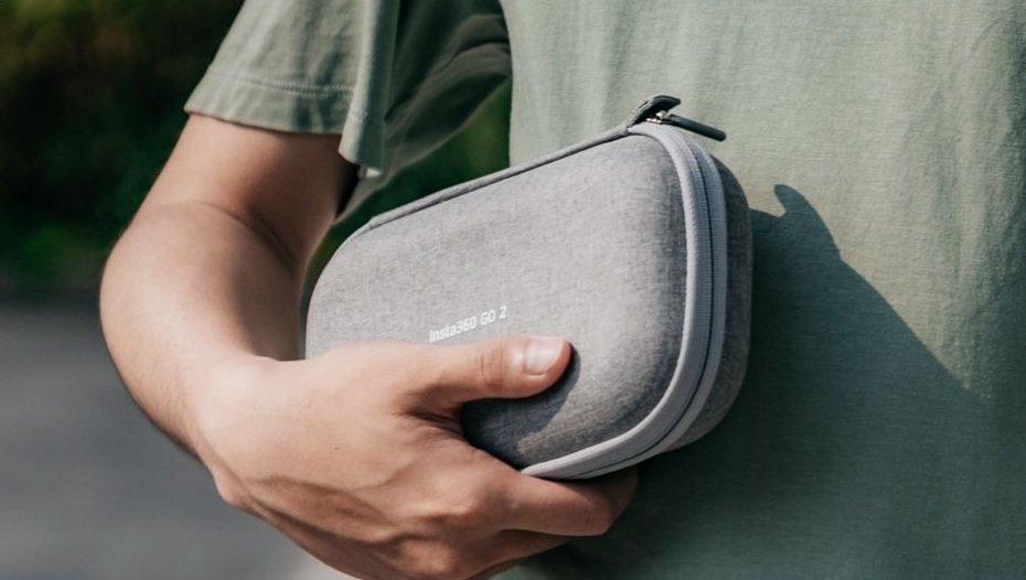 Insta360 GO 2 Carry Case chắc chắn với chất liệu vải sợi bền