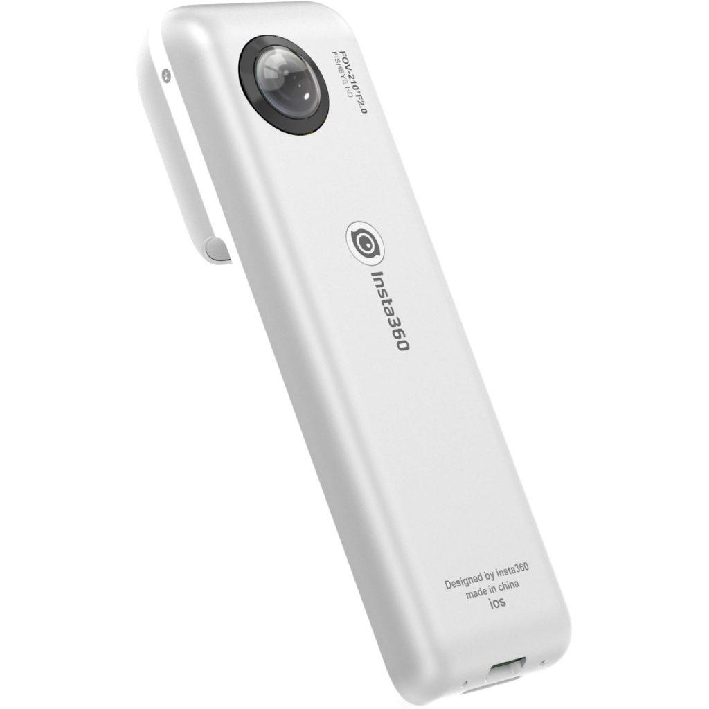 Insta360 Nano có thiết kế nhỏ gọn, linh hoạt