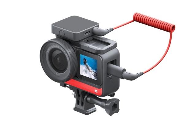 Insta360 ONE R Mic Adapter kết nối ONE R và micro bên ngoài