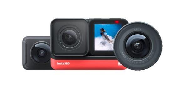 Insta360 ONE R với ống kính có thể hoán đổi