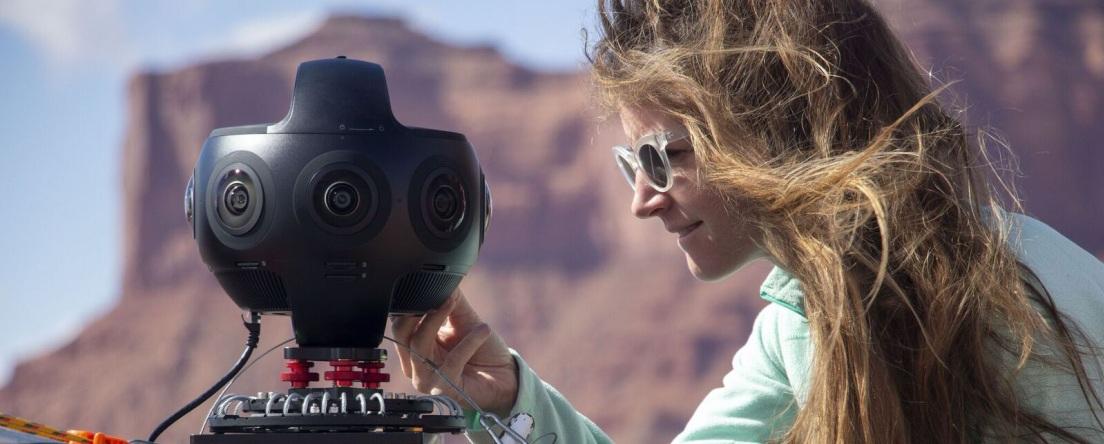 Insta360 Titan chỉnh sửa video chuyên nghiệp