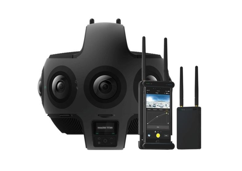 bắt đầu dự án VR với Insta360 Titan và 5G