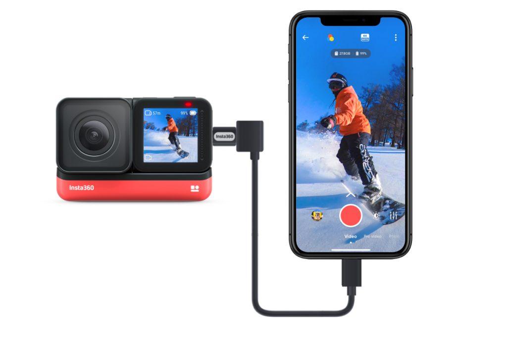 Insta360 iOS Transfer Cable tương thích với các thiết bị iOS