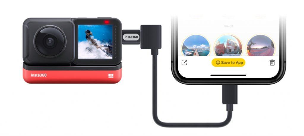 Insta360 iOS Transfer Cable truyền dữ liệu siêu ổn định